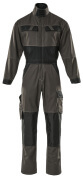15719-330-1809 Boilersuit with kneepad pockets - dark anthracite/black