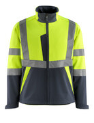 15902-253-17010 Softshell Jacket - hi-vis yellow/dark navy