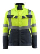 15909-948-17010 Jacket - hi-vis yellow/dark navy