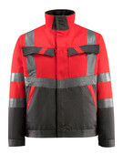 15909-948-22218 Jacket - hi-vis red/dark anthracite