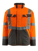 15935-126-1418 Winter Jacket - hi-vis orange/dark anthracite