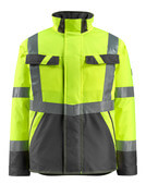 15935-126-1718 Winter Jacket - hi-vis yellow/dark anthracite