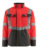 15935-126-22218 Winter Jacket - hi-vis red/dark anthracite