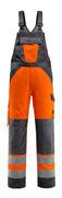 15969-948-1418 Bib & Brace with kneepad pockets - hi-vis orange/dark anthracite