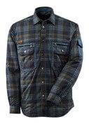 17004-991-01085 Shirt with lining - dark navy/stone blue