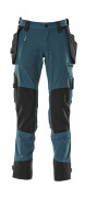 17031-311-010 Trousers with holster pockets - dark navy