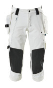 17049-311-06 ¾ Length Trousers with holster pockets - white