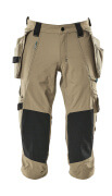 17049-311-55 ¾ Length Trousers with holster pockets - light khaki
