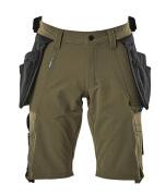 17149-311-33 Shorts - moss green