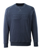 17184-830-66 Sweatshirt - washed dark blue denim