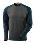 17281-944-18 T-shirt, long-sleeved - dark anthracite