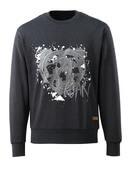17284-280-73 Sweatshirt - black denim