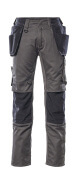 17631-442-1809 Trousers with holster pockets - dark anthracite/black