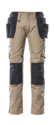 17631-442-0618 Trousers with holster pockets - white/dark anthracite