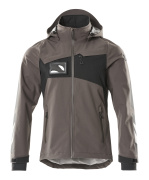 18001-249-1809 Outer Shell Jacket - dark anthracite/black