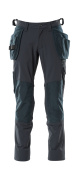 18031-311-010 Trousers with kneepad pockets and holster pockets - dark navy
