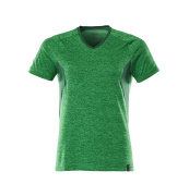 18092-801-33303 T-shirt - grass green-flecked/green