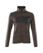 18155-951-1809 Knitted Jumper with zipper - dark anthracite/black