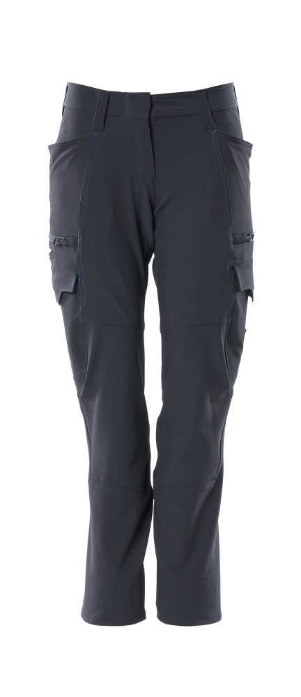 18178-511-010 Trousers with thigh pockets - dark navy
