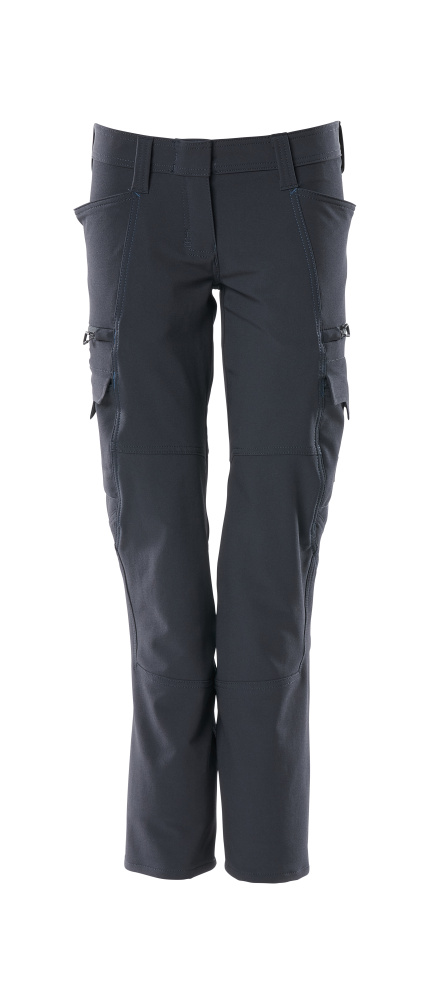 18188-511-010 Trousers with thigh pockets - dark navy