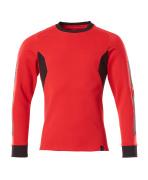 18384-962-20209 Sweatshirt - traffic red/black