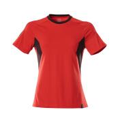 18392-959-20209 T-shirt - traffic red/black