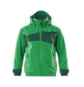 18901-249-33303 Outer Shell Jacket for children - grass green/green
