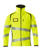 19002-143-1709 Softshell Jacket - hi-vis yellow/black