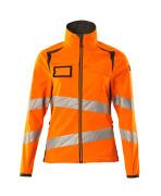 19012-143-1418 Softshell Jacket - hi-vis orange/dark anthracite