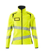 19012-143-17010 Softshell Jacket - hi-vis yellow/dark navy
