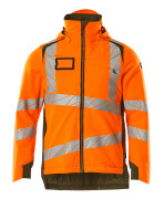 19035-449-1433 Winter Jacket - hi-vis orange/moss green