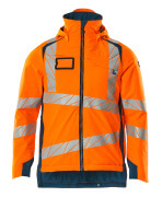 19035-449-1444 Winter Jacket - hi-vis orange/dark petroleum