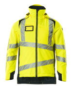 19035-449-17010 Winter Jacket - hi-vis yellow/dark navy
