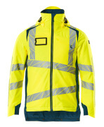 19035-449-1744 Winter Jacket - hi-vis yellow/dark petroleum