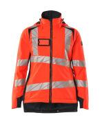 19045-449-14010 Winter Jacket - hi-vis orange/dark navy