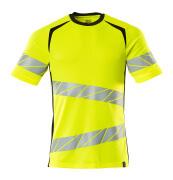 19082-771-1709 T-shirt - hi-vis yellow/black