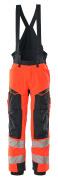19090-449-22210 Winter Trousers - hi-vis red/dark navy