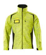 19202-291-1709 Softshell Jacket - hi-vis yellow/black