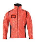 19202-291-22210 Softshell Jacket - hi-vis red/dark navy