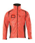 19202-291-22218 Softshell Jacket - hi-vis red/dark anthracite