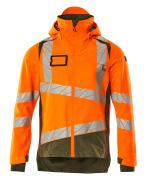 19301-231-1433 Outer Shell Jacket - hi-vis orange/moss green