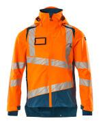 19301-231-1444 Outer Shell Jacket - hi-vis orange/dark petroleum