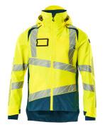 19301-231-1744 Outer Shell Jacket - hi-vis yellow/dark petroleum