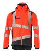 19301-231-14010 Outer Shell Jacket - hi-vis orange/dark navy
