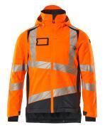19335-231-14010 Winter Jacket - hi-vis orange/dark navy