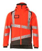19335-231-22218 Winter Jacket - hi-vis red/dark anthracite