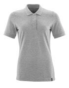 20193-961-08 Polo shirt - grey-flecked