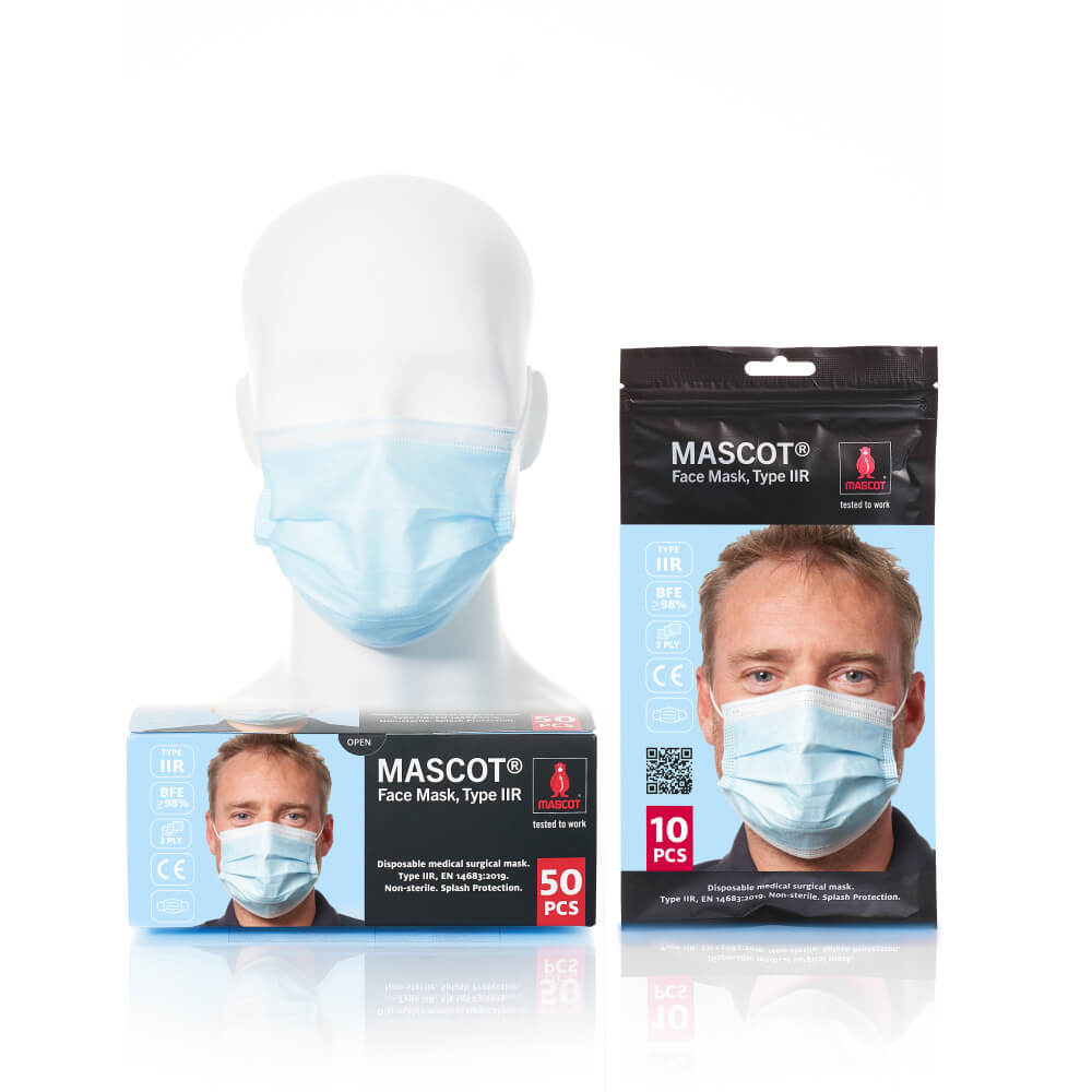 20950-921-71 Face Mask - light blue