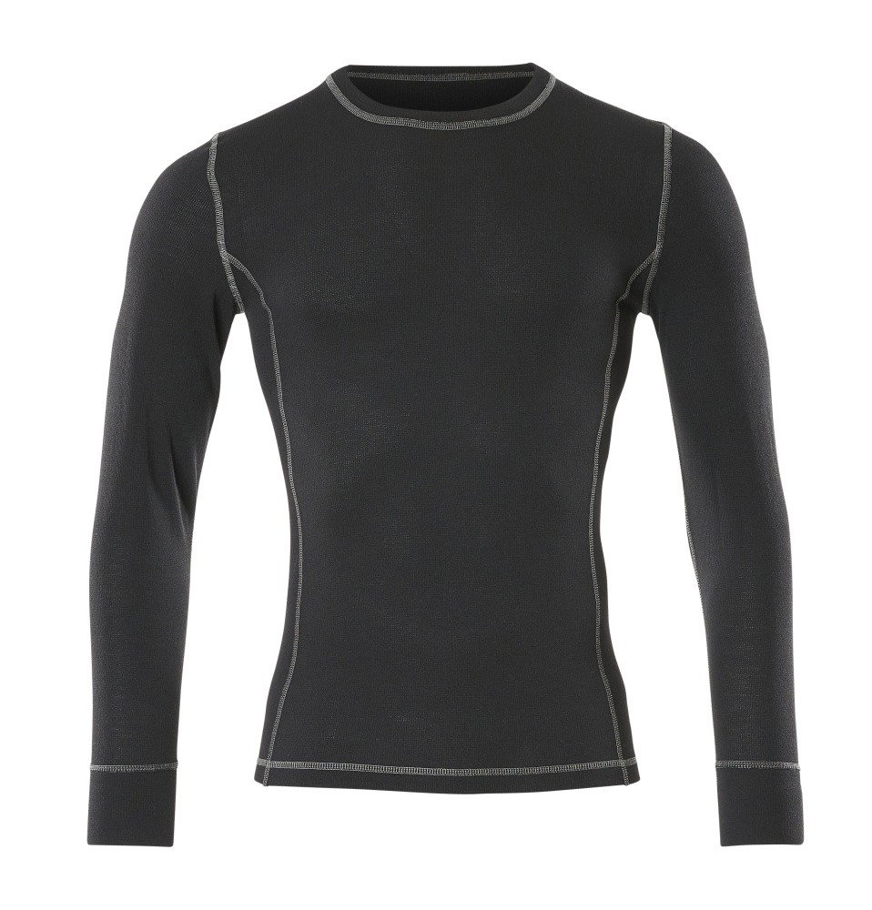 50027-871-09 Functional Under Shirt - black