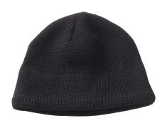 50077-843-09 Knitted Hat - black